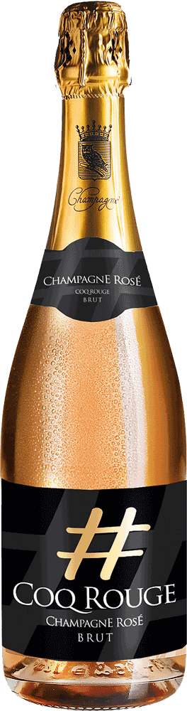 Champagner Coq Rouge Rosé Brut